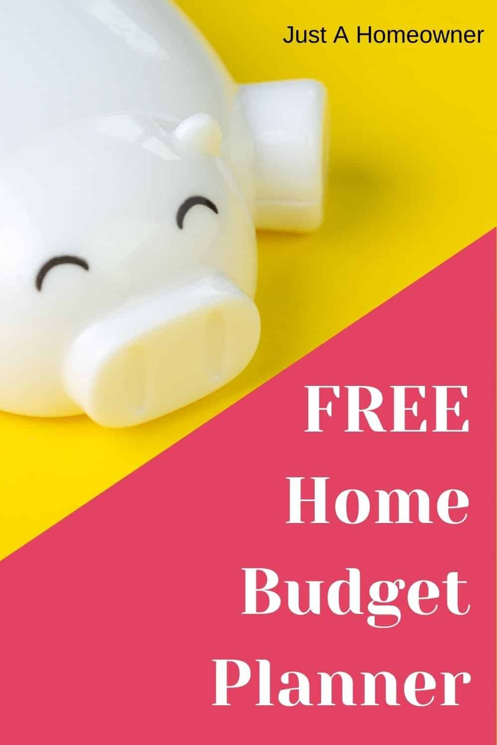 Free Home Budget Planner