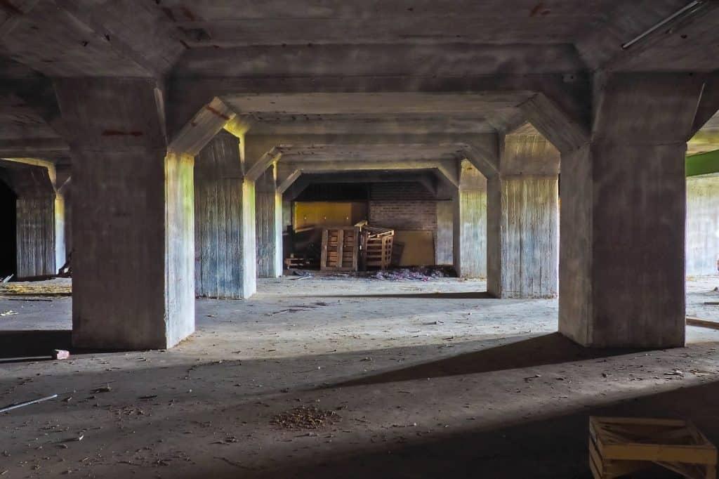 Old Concrete Warehouse