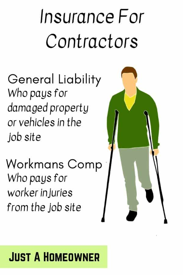 Choose A Contractor With Insurance