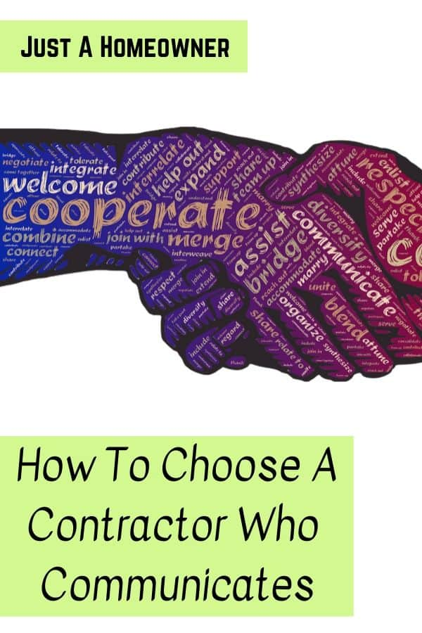 Choose A Contractor Who Communicates