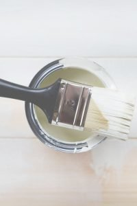 paint brush with paint on it
