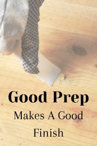 Good prep can make or break your cabinet finish