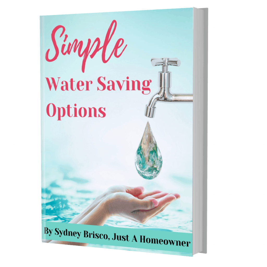 Printable source of simple water saving options you can use in your home